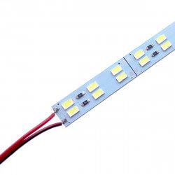 Светодиодная линейка JL 5730-144 led W 2-pin 6500K, 12В, IP20 белый