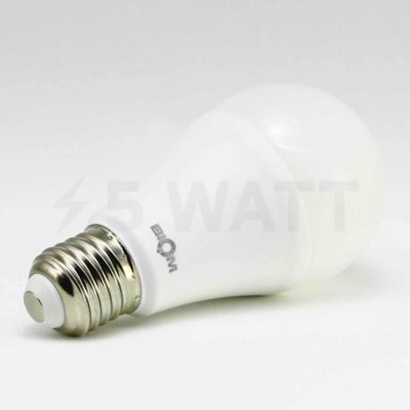 Світлодіодна лампа Biom BB-422 A60 12W E27 4200К матова - в інтернет-магазині