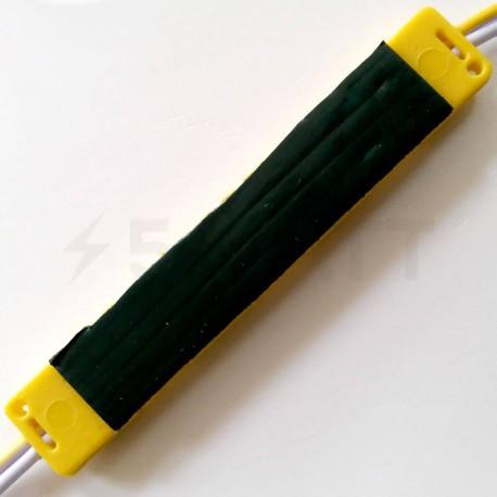 Світлодіодний модуль BRT M2 5630-3 led Y 1,5W, 12В, IP65 жовтий закритий з лінзою - в Україні
