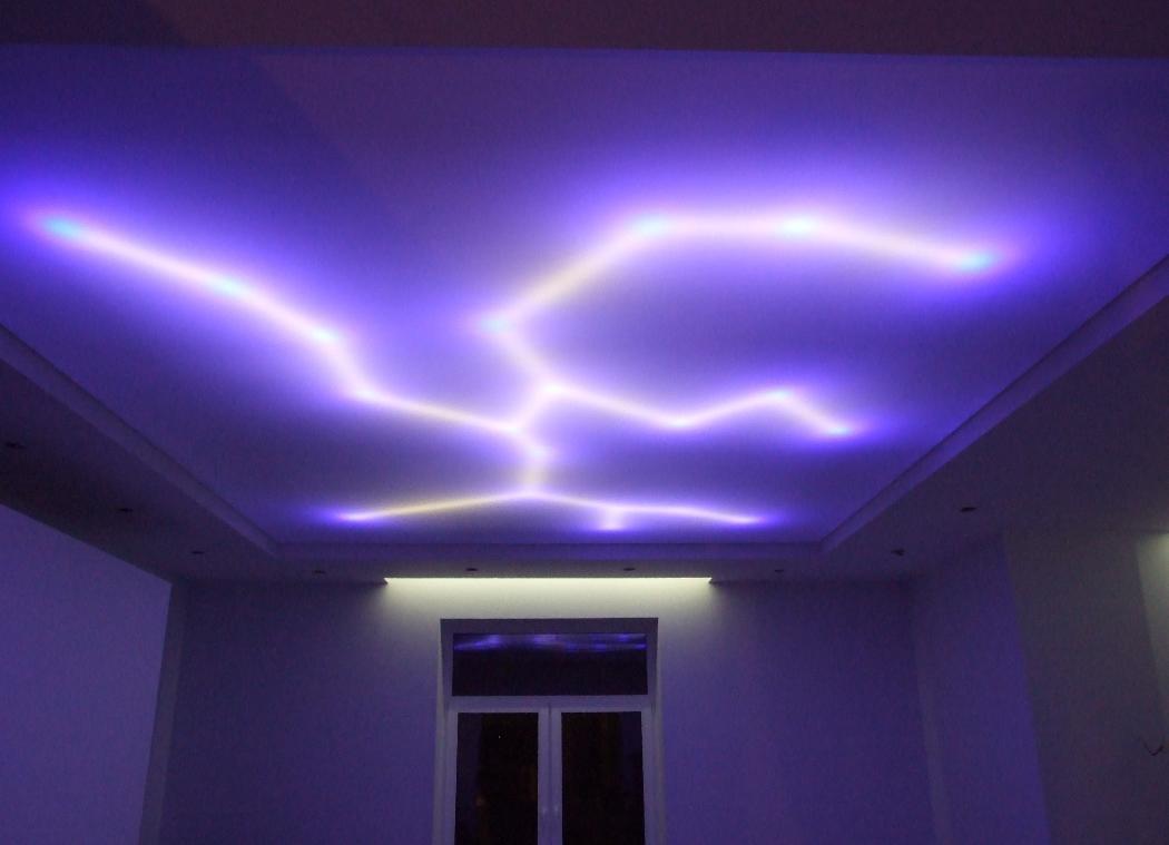 Арт-подсветка потолка