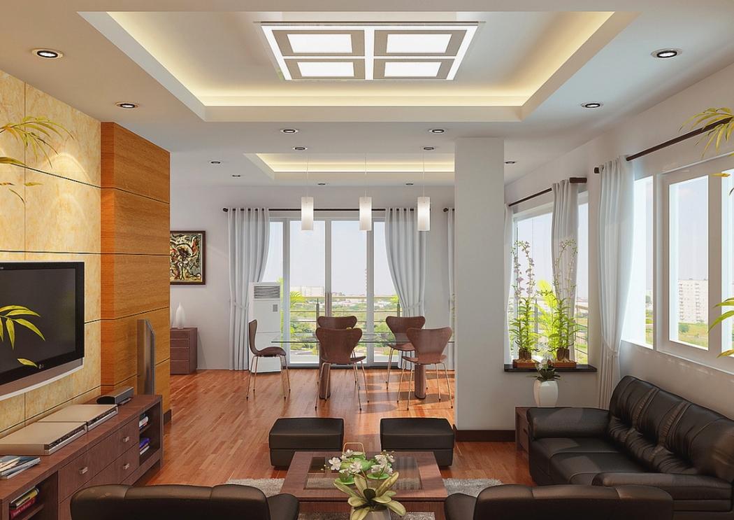 Освещение квартиры с многоуровневым потолком