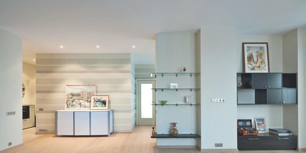 Расположение электроточек в квартире свободной планировки