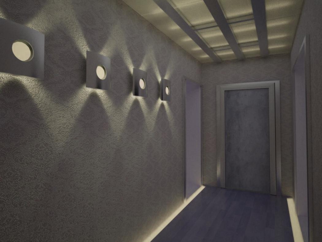 Дежурное освещение в коридоре